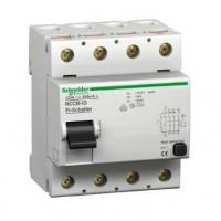 16901 Устройство защитного отключения (УЗО) / Выключатель дифференциального тока (ВДТ) Multi9 оборудование дифференциальной защиты Schneider Electric