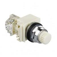 9001K2L35WH13 Кнопка в сборе с подсветкой Harmony 9001K Schneider Electric