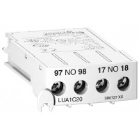 Вспомогательный контакт TeSys U LUA1C20 Schneider Electric