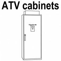 VW3A1103 Дверца для монтажа выносного терминала Altivar Schneider Electric