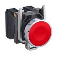 XB4BA42 Кнопка в сборе Harmony XB4 Schneider Electric