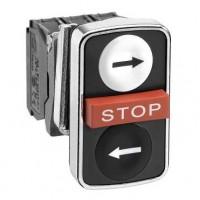 XB4BA711237 Комплект кнопки с тремя головками Harmony XB4 Schneider Electric