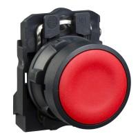 XB5AA41 Нажимная кнопка (кнопочный выключатель/переключатель) в сборе Модульные кнопки и лампочки диаметром 22 мм с пластиковым основанием Schneider Electric