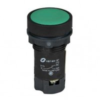 XB7EA33P Нажимная кнопка (кнопочный выключатель/переключатель) в сборе Моноблочные кнопки и лампочки диаметром 22 мм серии XB7 Schneider Electric